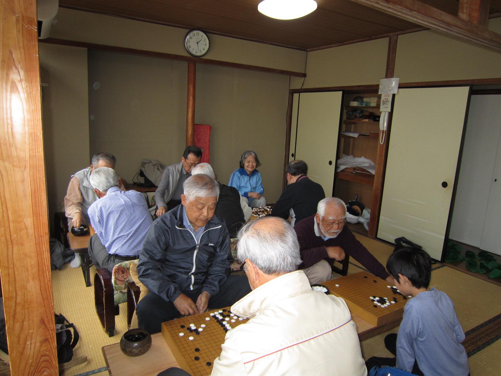囲碁将棋サロン大会